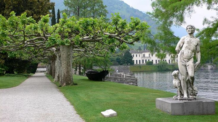 Percorso storico artistico nei giardini di Villa Melzi
