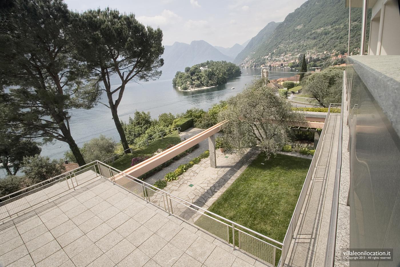 Villa Leoni, storia e geometria