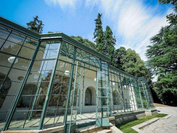 Riqualificazione delle serre di Villa del Grumello