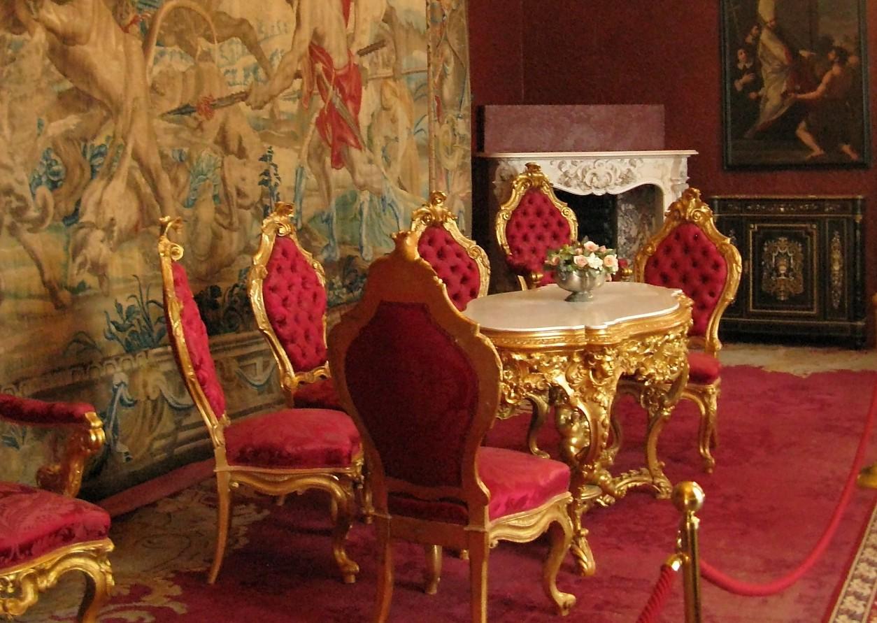 La Sala Rossa di Villa Monastero