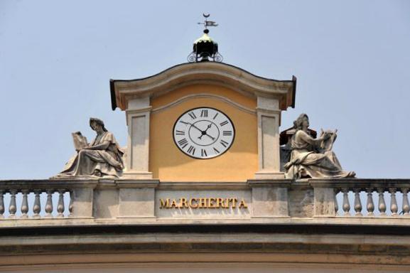 Villa Margherita - frontone