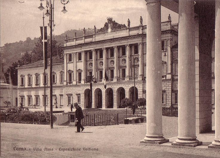 Vecchie Cartoline da Villa Olmo