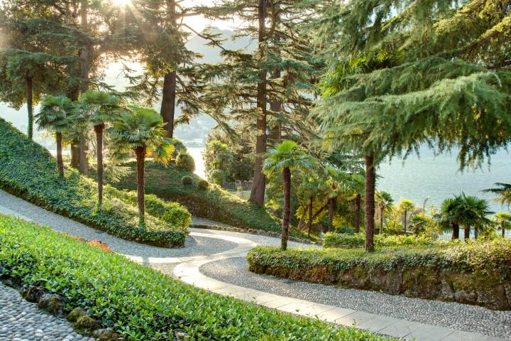 Il giardino di Villa Passalacqua