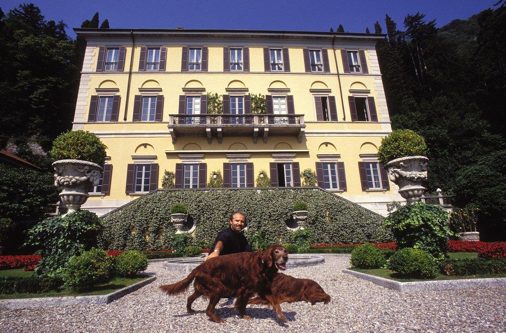 Gianni Versace e i suoi celebri ospiti a Villa Fontanelle
