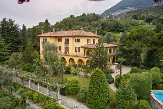 Il parco di Villa La Collina