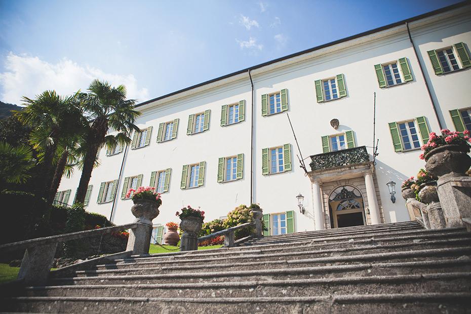 I proprietari di Villa Passalacqua
