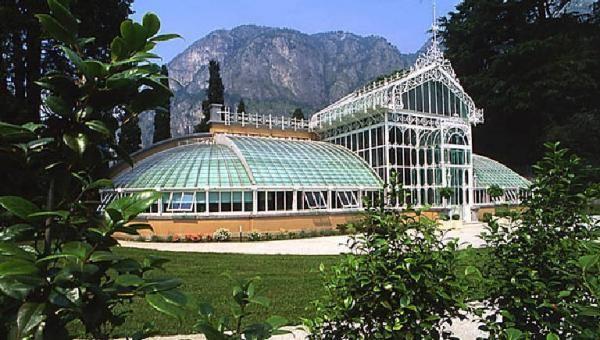 La serra di Villa Maria