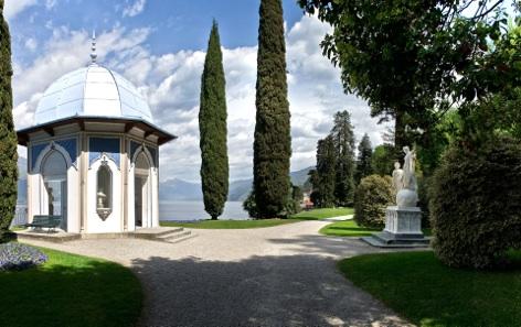 Chiosco moresco di Villa Melzi