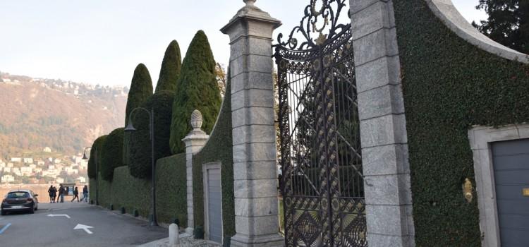 La cancellata di Villa Mondolfo