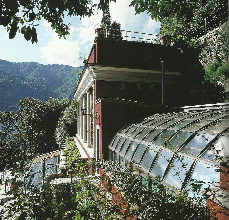 La serra di Villa Taverna