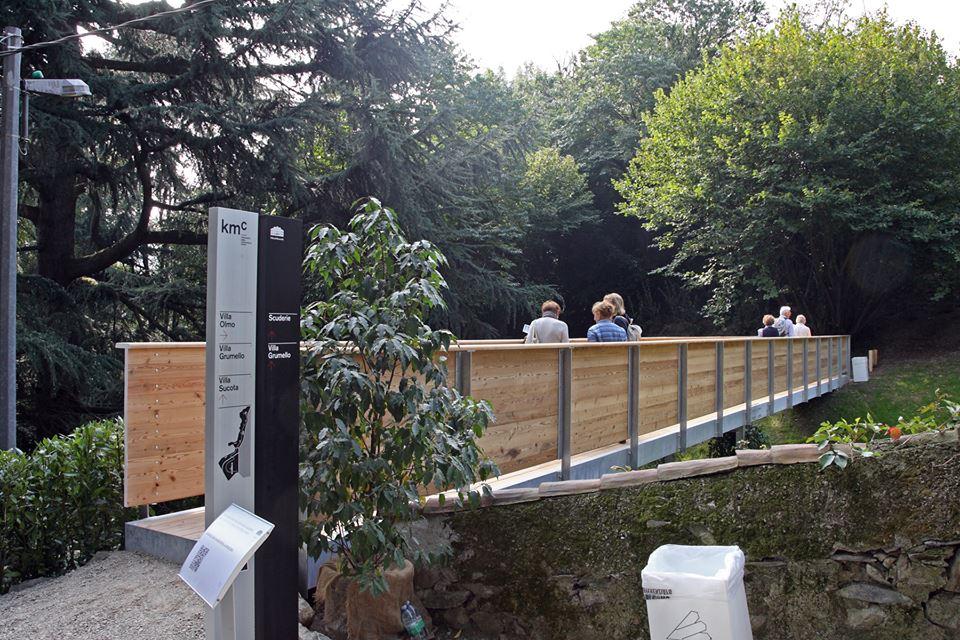Il parco di Villa del Grumello aperto al pubblico