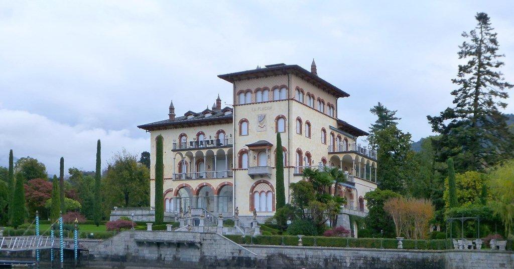 La costruzione di Villa Placida
