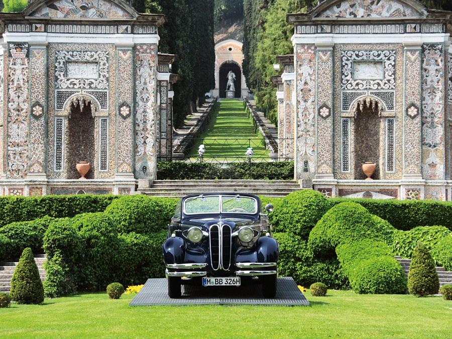 Il week end del Concorso di Eleganza a Villa d'Este e Villa Erba!