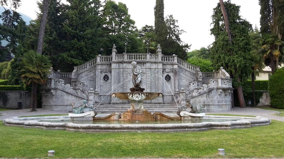 Il parco di Villa Meier