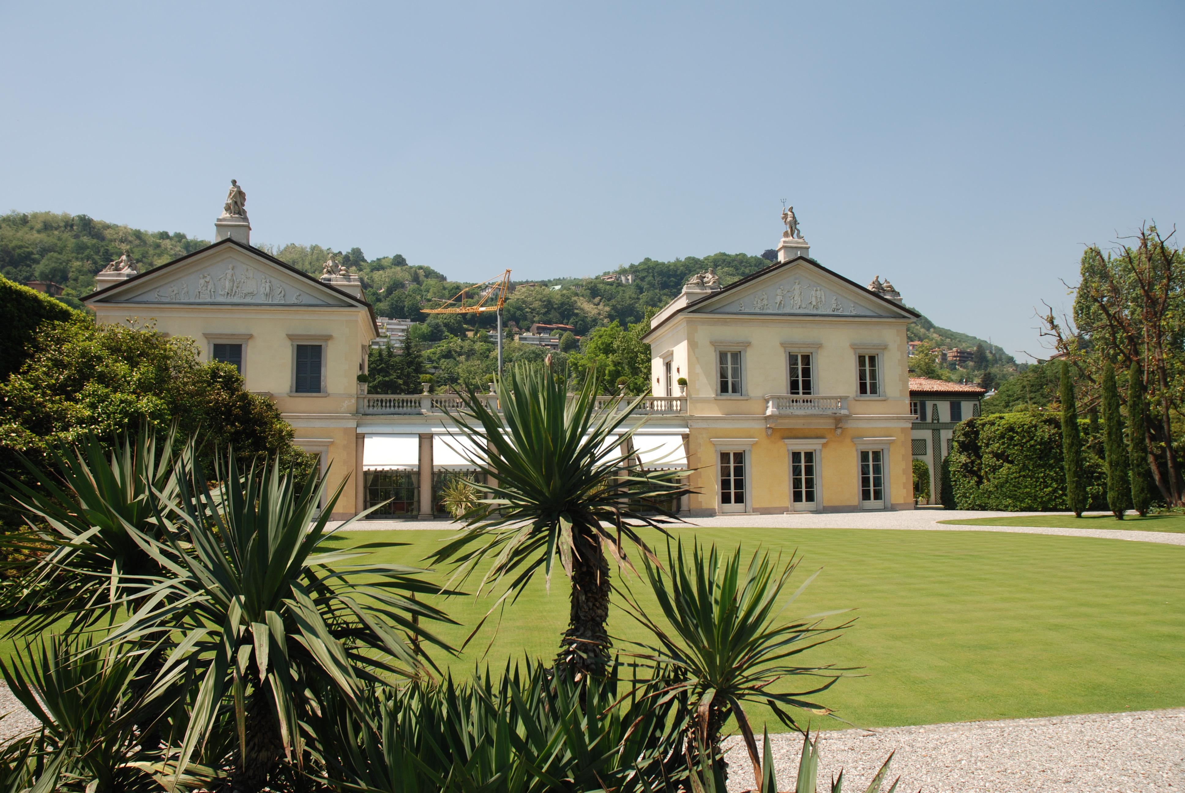 Villa Mondolfo, la storia