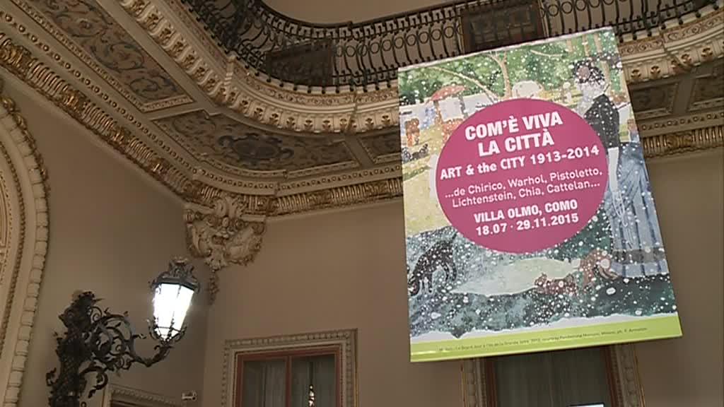 Mostra a Villa Olmo – Com'è viva la città