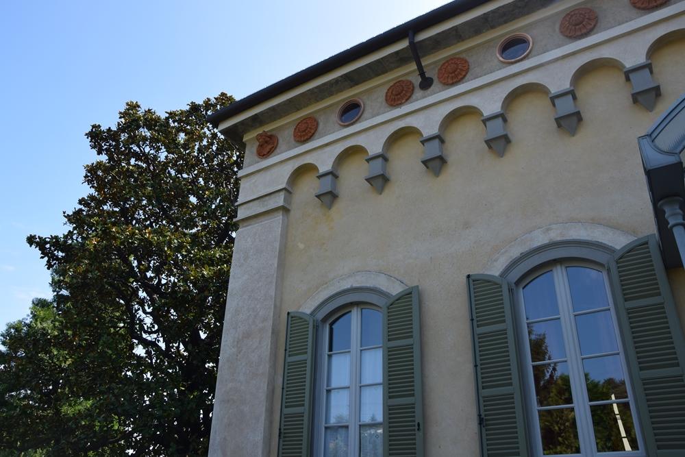 Le maschere di Villa di Delizia
