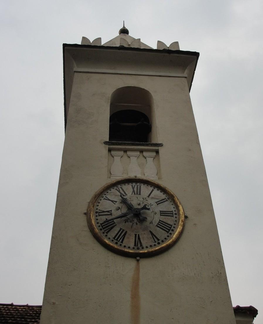 L'orologio del campanile di Villa Balbianello