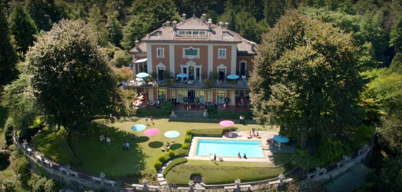 George Clooney ci incanta di nuovo a Villa Centenari