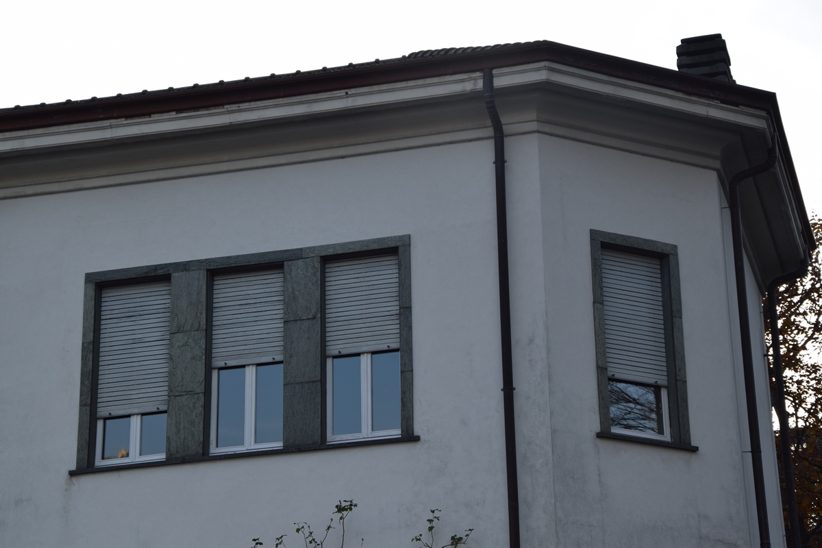 particolare villa musa