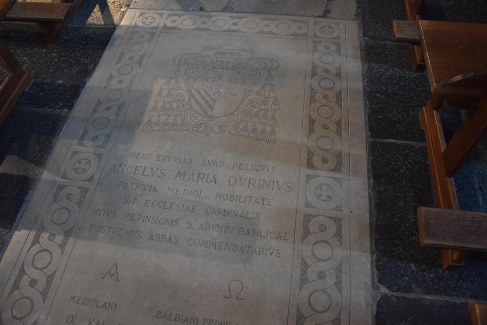 Tomba del Cardinal Durini
