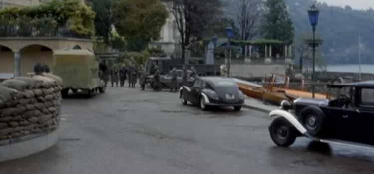 Villa Allamel set del film Mussolini ultimo atto