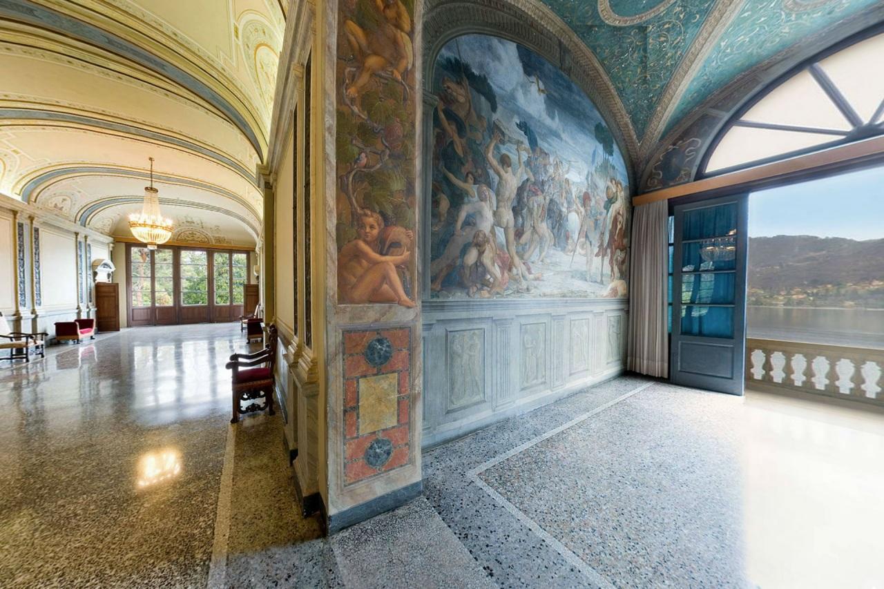 Il conte sommariva porta l 39 arte a villa carlotta lake for Lago villa del conte