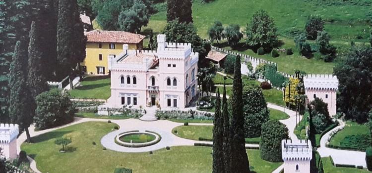 La villa in stile neogotico inglese