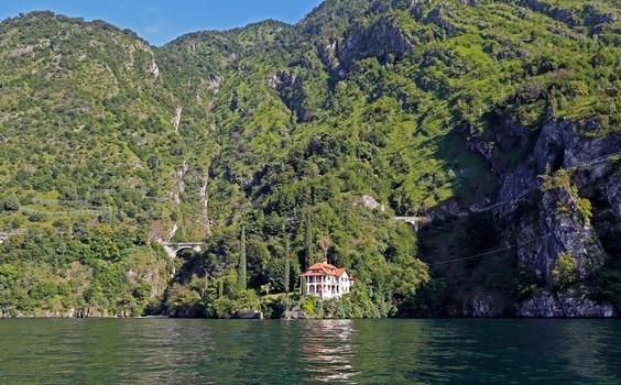 La villa sulla costiera dei Grosgalli