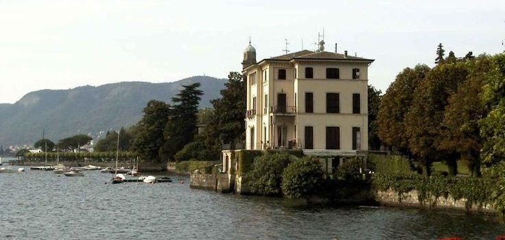 La villa del Conte Giulio Belinzaghi