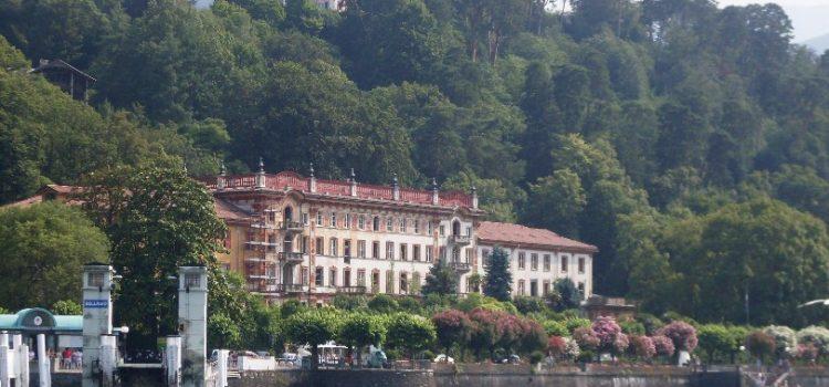 La storia del Grande Bretagne Hotel di Bellagio