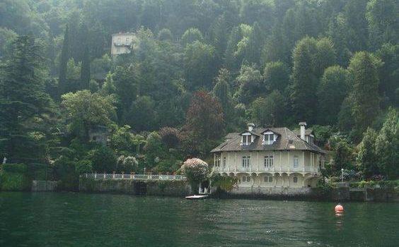 La villa darsena di Blevio