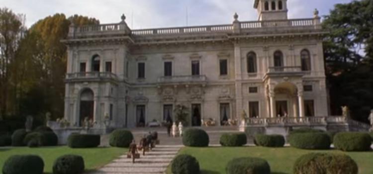 Villa Erba nel film La partita – La difesa d Lužin