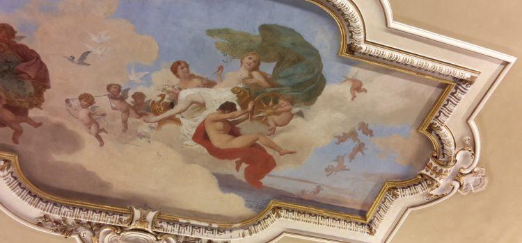 La sala del Duca a Villa Olmo
